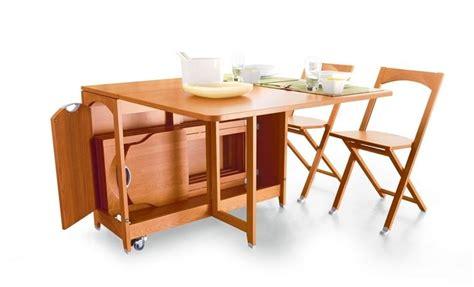 tavolo con sedie a scomparsa tavolo a scomparsa pratico e salvaspazio tavoli