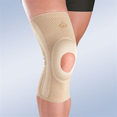 luxating patella brace opened patella knee brace w silicone pad and lateral reinforcements orliman