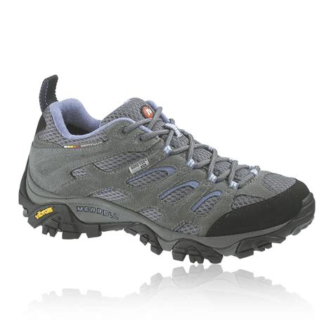 merrell moab mid tex womens grey waterproof hiking