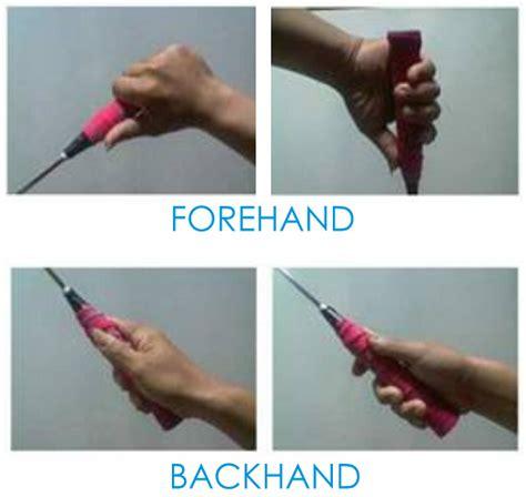 Raket Dan Kok teknik cara memegang raket badminton bulutangkis kabar
