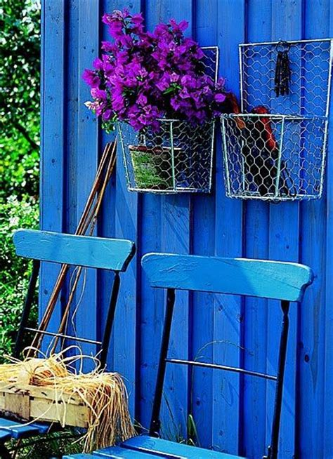 blue wall i would to paint my backyard fence this color it s fantastic who could be sad