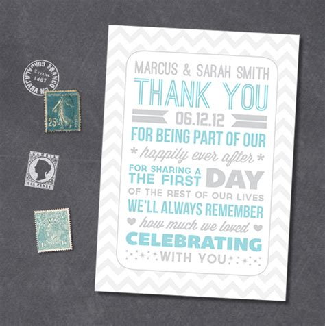 thank you wedding notes typography style wedding thank you notes a freebie