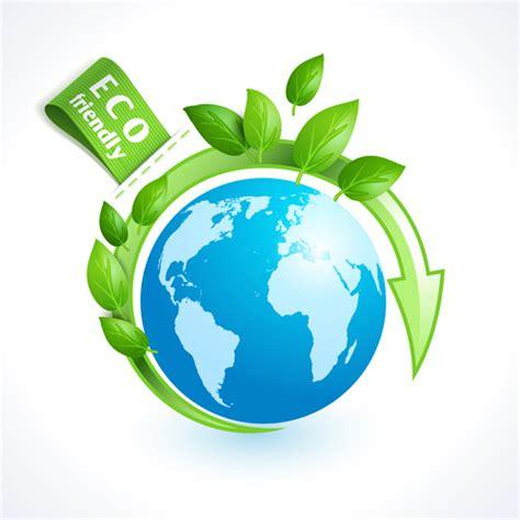 Eco Friendly by Eco Friendly Logos Creative Vector Design Free Vector In