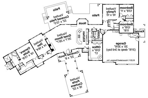 craftsman house floor plans craftsman house plans woodcliffe 30 715 associated designs