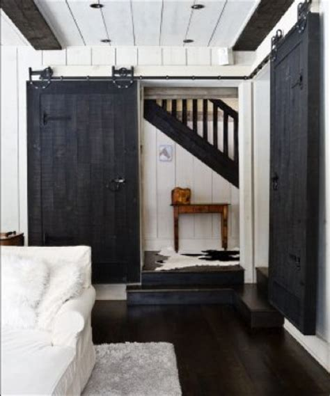 sliding barn door for the home