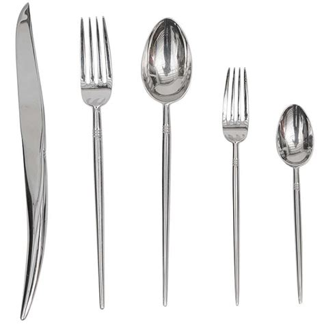 Home Place Interiors by Philippe Starck Object Pointus Flatware For Sale At 1stdibs