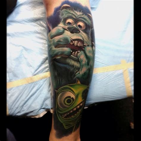 monsters inc tattoo really cool monsters inc geektyrant