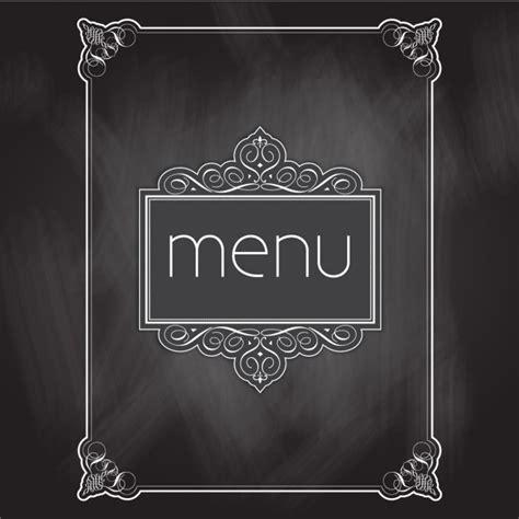 bar pour cuisine am駻icaine menu design quadro negro baixar vetores gr 225 tis