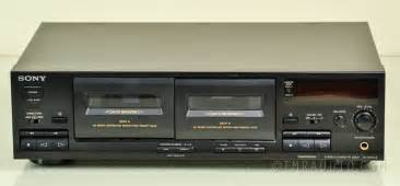 sony deck sony tc wr445 dual cassette deck recorder ebay