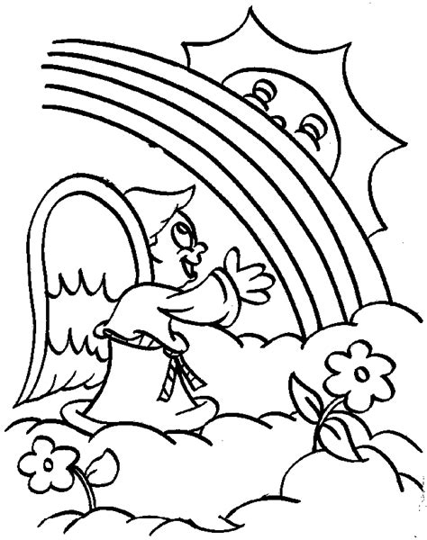 rainbow coloring page pdf download rainbow pictures coloring pages or print rainbow
