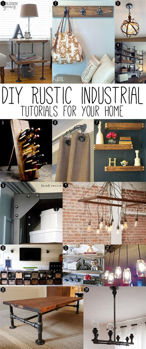 industrial chic home decor press for the home