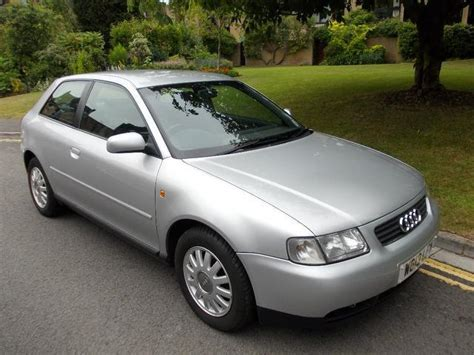 Audi A3 Hatchback 2000 by Used Audi A3 2000 Manual Petrol 1 6 Se 3 Door Silver For