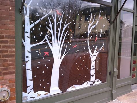 window painting signs christmas holiday seasonal artist tis the season for signs pure graphix fredericksburg va