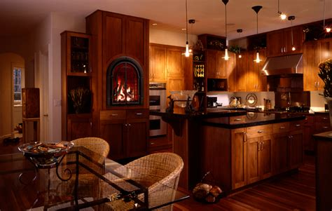 kitchen fireplace ideas kitchen with fireplace designs how to choose a fireplace