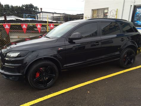 Cool Looking Speakers audi q7 blacked out joe s stereo