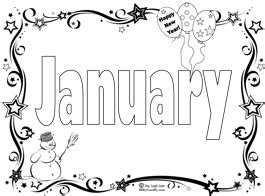 january coloring pages printable start the new year with a january coloring page song