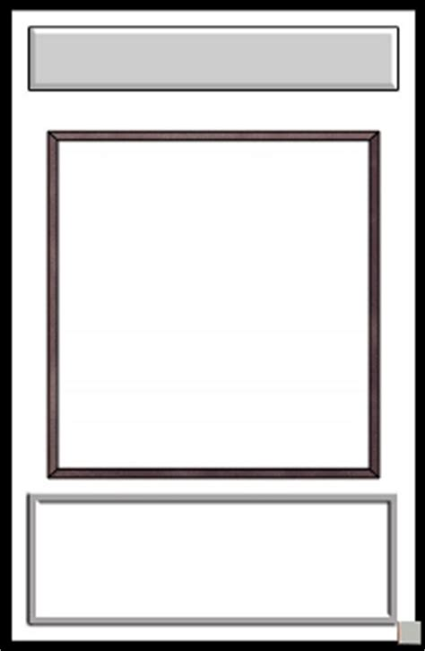 trading card template trading card card templates pictures to pin on