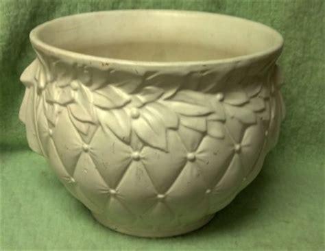 Mccoy Pottery Planters Vintage by Vintage Mccoy Pottery Basketweave Jardiniere Planter