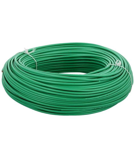 buy powerole green copper cable wire at low price