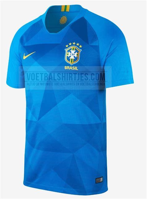 brazili 235 uitshirt 2018 voetbalshirts wk 2018 brazili 235