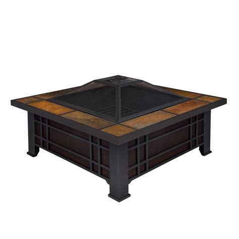 real morrison 34 in wood burning pit black