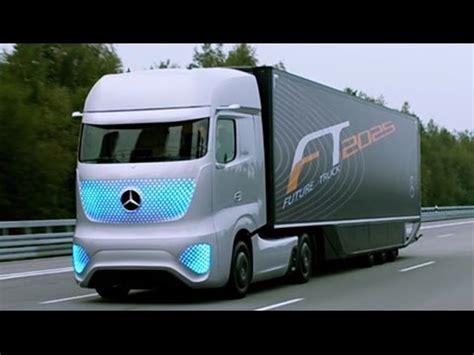 future mercedes truck self driving truck mercedes future truck 2025