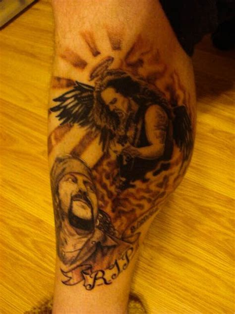 dimebag darrell tattoos dimebag darrell tribute tattoos