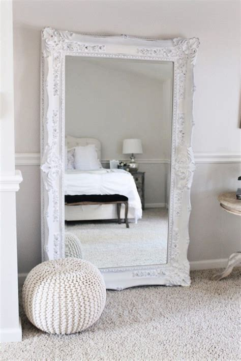 mirror ideas for bedroom 25 best ideas about white mirror on pinterest large