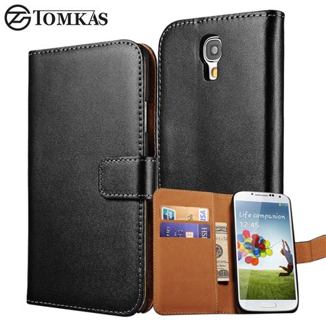 New Luxury Wallet Leather Samsung Galaxy S4 Termurah luxury s4 wallet flip genuine leather stand for