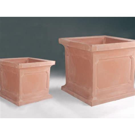 estate square planter box newpro containers