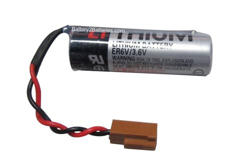 Er6v 3 6v toshiba er6v 3 6v battery replacement connector rd0205