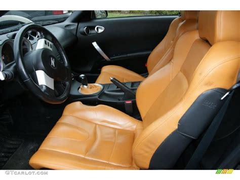 2005 Nissan 350z Interior by Burnt Orange Interior 2005 Nissan 350z Touring Coupe Photo