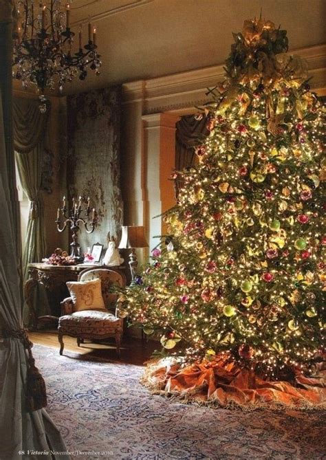 victorian christmas tree blue lights best 25 tree ideas on tree