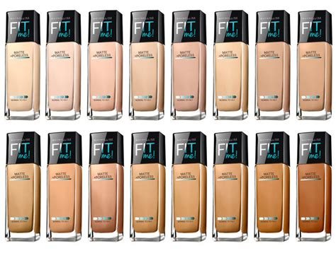 Maybelline Fit Me Matte And Poreless how to apply maybelline fit me foundation