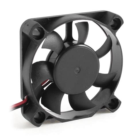 2 pin computer fan 50mm x 10mm dc 12v 2 pin connector computer case cooler