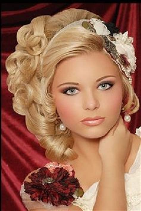 Hairstyles For Pageants by Pageant Hairstyles For On Pageants