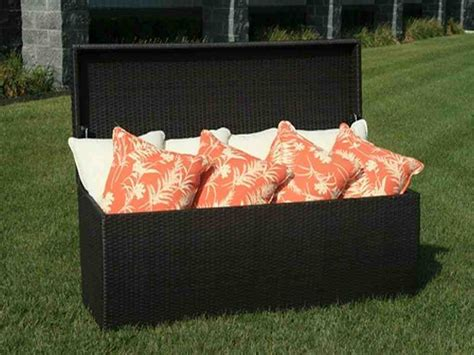 storage bench seat cushions patio cushion storage bench home furniture design