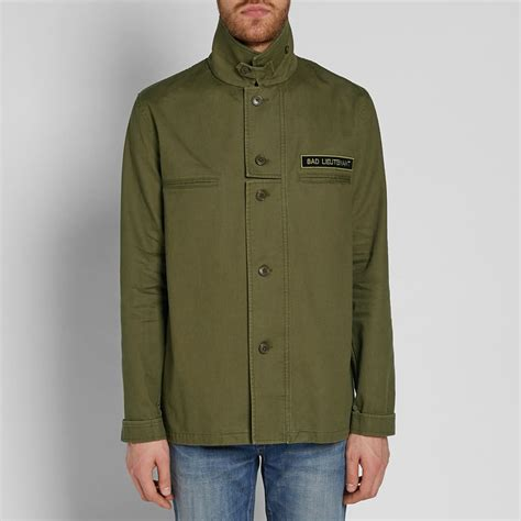 Yamica Shirt Khaki laurent bad lieutenant overshirt khaki