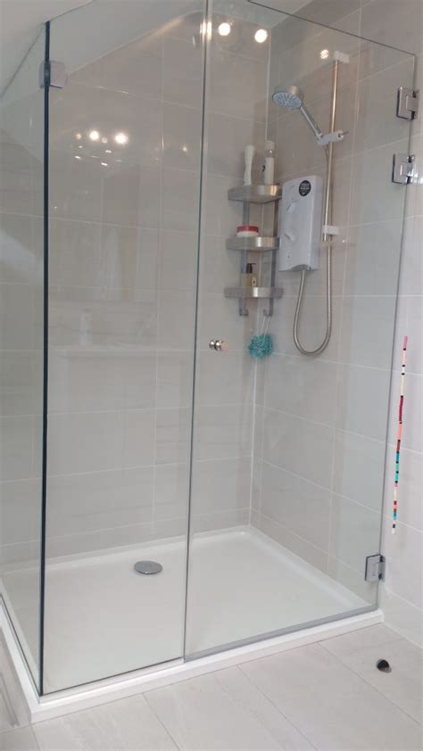 Shower Doors Cork Domestic Glass Shower Fitting In Cobh Waters Glass Glass Products Cork Waters Glass Glass