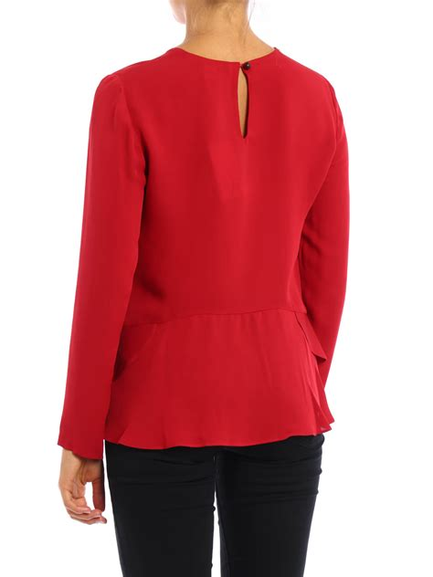 Galia Blouse galia silk blouse by diane furstenberg blouses ikrix