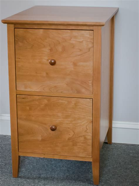 Shaker Furniture Of Maine by Shaker Furniture Of Maine 187 Cherry 2 Drawer File Cabinet