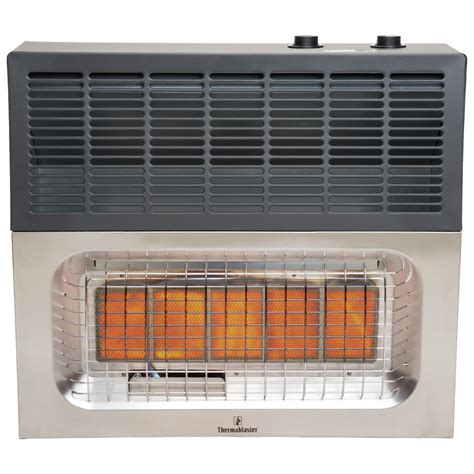 vent free gas heater installation shop thermablaster 25 000 btu wall mount natural gas or
