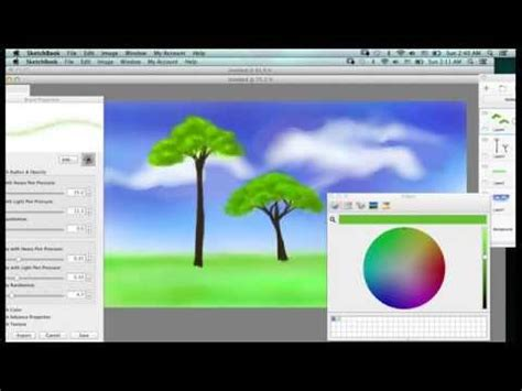 sketchbook pro vs wacom painting with sketchbook pro on wacom intuos