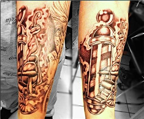 barber tattoo 17 best images about tats on ribs tiger