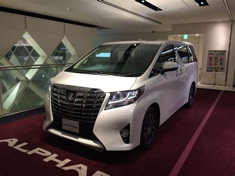 luxury minivan 2016 toyota alphard wikipedia