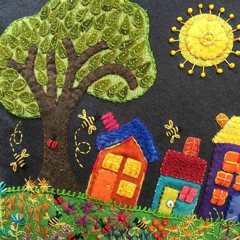felt applique patterns thanks illing for bringing your gorgeous version of