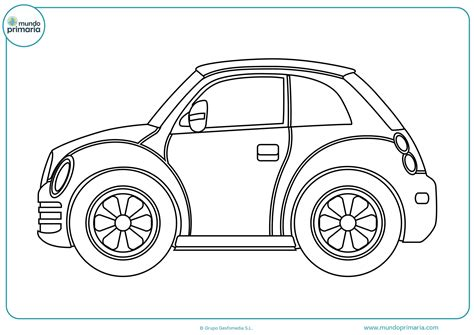 dibujos para colorear coches 9 dibujos para colorear dibujos de coches para colorear mundo primaria