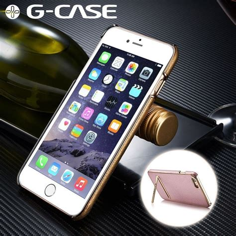 g 174 apple iphone 6 plus 6s plus ultra thin leather with electroplating inbuilt click