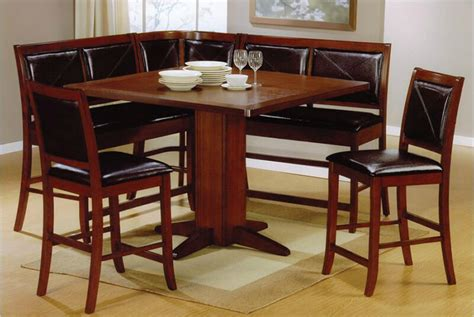 Kitchen Table Nook Dining Set 21 Space Saving Corner Breakfast Nook Furniture Sets Booths
