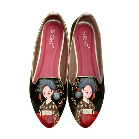 Flat Hitam By Quera Shop flat shoes hitam snocure